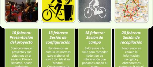 Un carril bici en Madrid es posible
