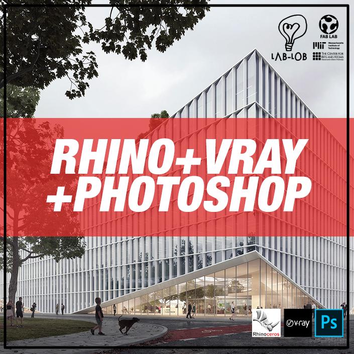 CURSO DE RHINO+VRAY+PHOTOSHOP // NIVEL BÁSICO